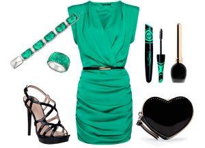 putfit vestito verde