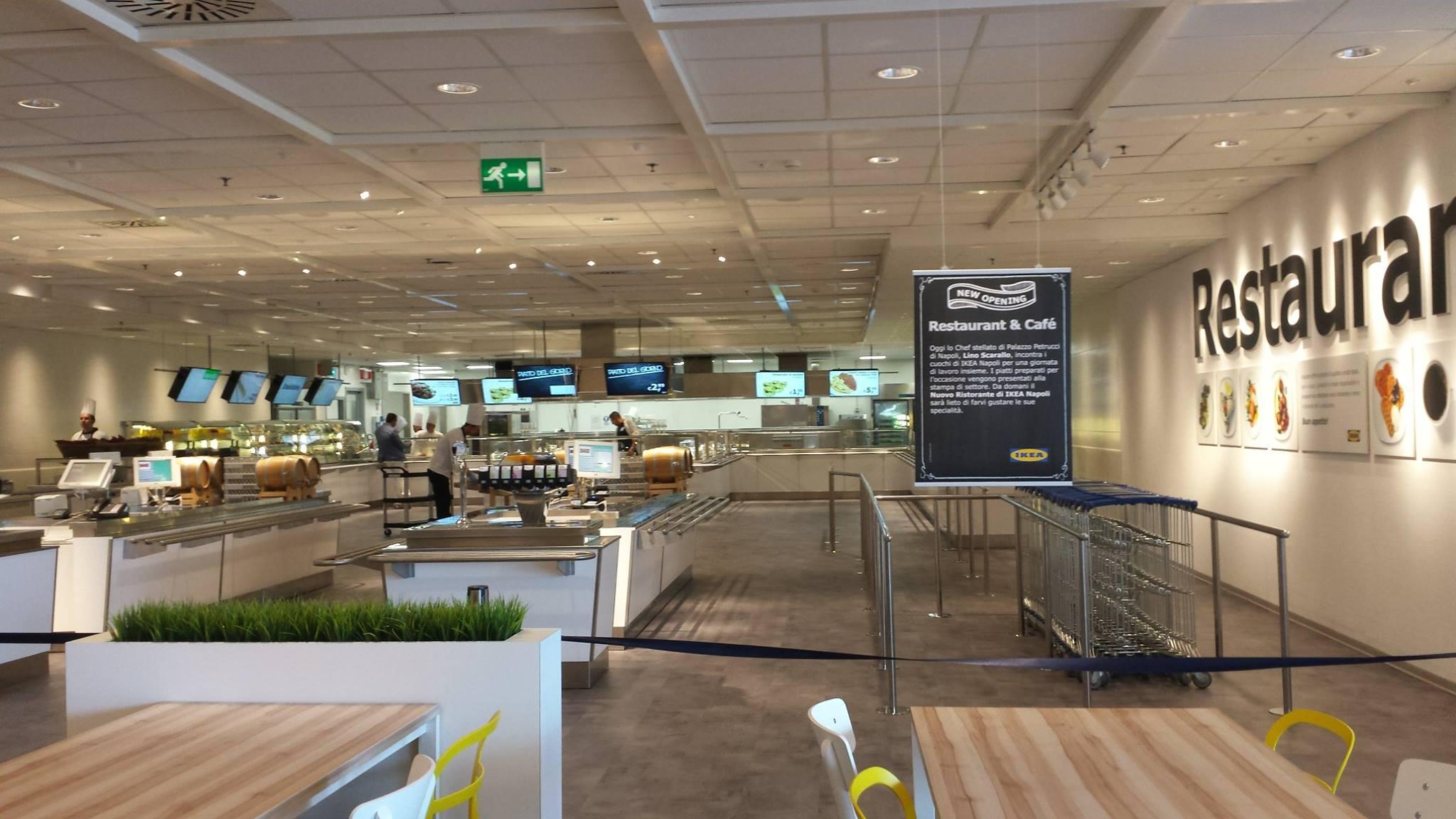 Ikea ha inaugurato oggi a napoli un nuovo ristorante - Ikea piatti cucina ...