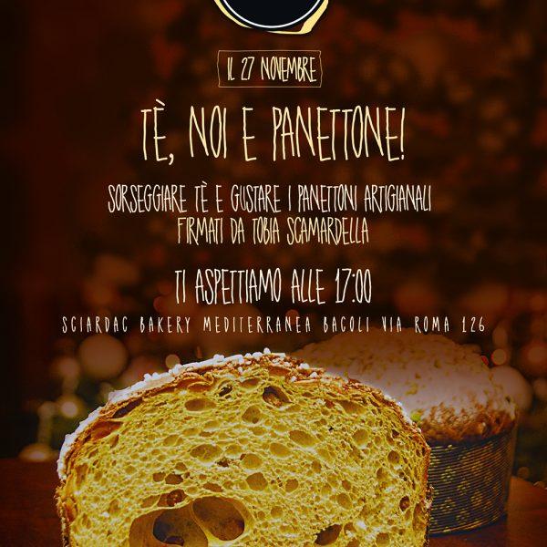 Locandina the noi e panettone